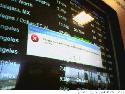 Pantallazo en una terminal