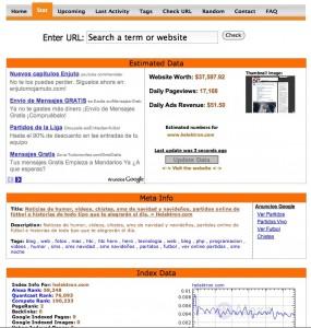 ¿Cuánto vale tu web? Cubestat.com