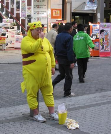 Pikachu en carne y hueso