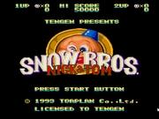Descargar y jugar a Snow Brothers gratis