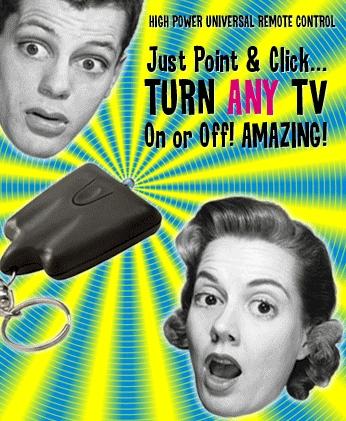 TV-B-Gone: Dispositivo universal para apagar cualquier televisor