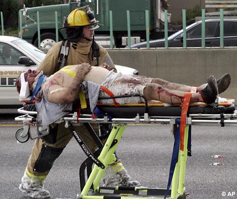 ¿Por qué hay que mantener la posición en el asiento en un accidente de avión?