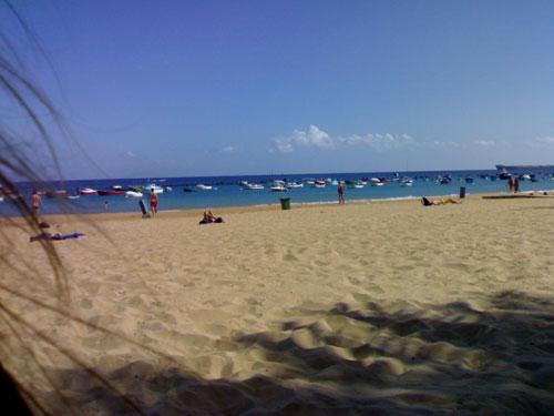 Fotos de la playa Las Teresitas en Tenerife