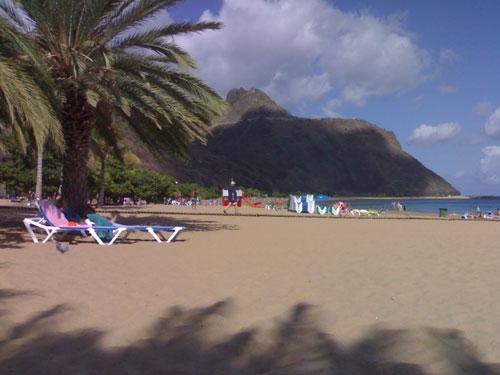 Fotos de la playa Las Teresitas en Tenerife Norte
