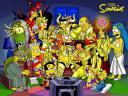 Los Simpsons como Caballeros del Zodiaco