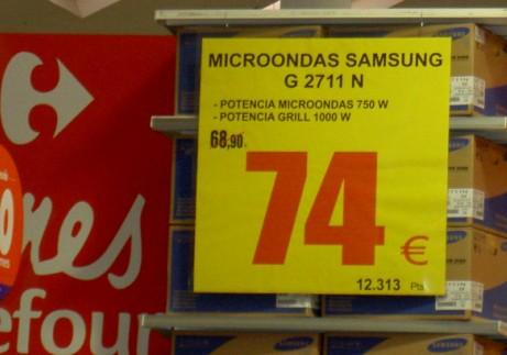 Ofertas en Carrefour