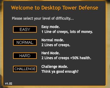 [Juego] Desktop Tower Defense