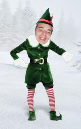Conviértete en un elfo y felicita las Navidades