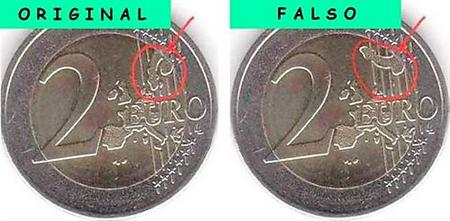 Cómo reconocer Euros falsos