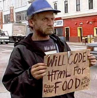 Código Html por comida