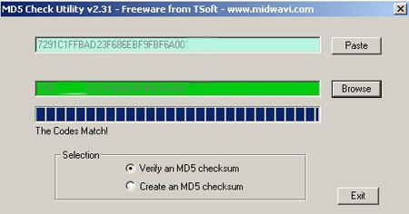 MD5 Checker: Verifica y comprueba el md5 de tus archivos descargados