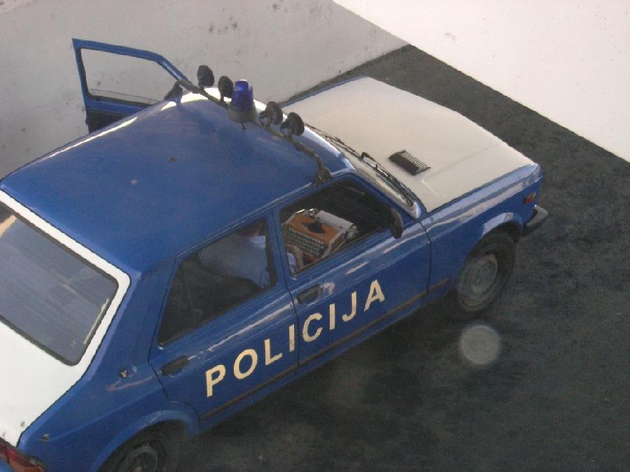 Los portátiles de la policía de Europa del Este