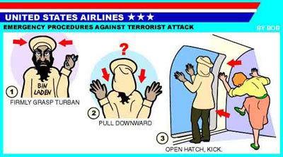 Procedimiento de emergencia en caso de ataque terrorista