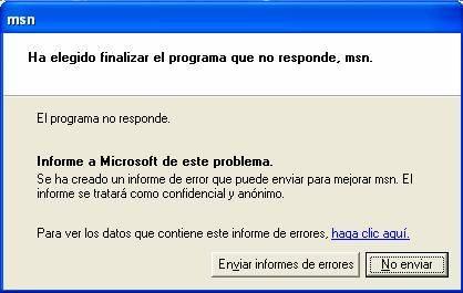 Cómo deshabilitar el reporte de errores en Windows