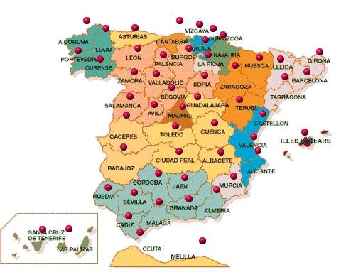 Distribución territorial de apellidos