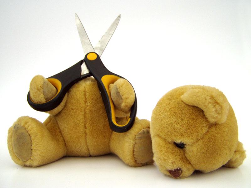 El suicidio de un osito de peluche