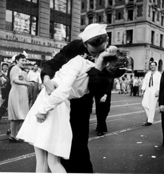 Fotos que hicieron historia: El beso de Time Square