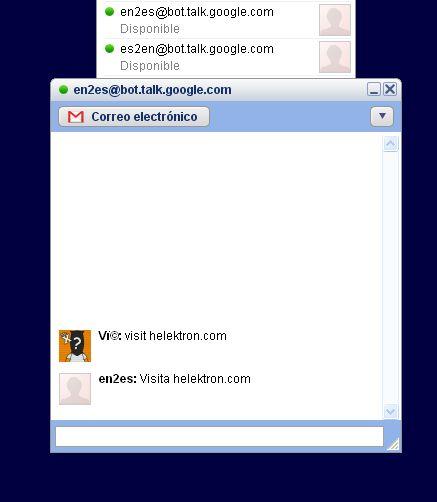Añade un traductor a tu Google Talk