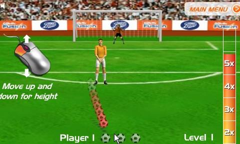Freekick Fusion: Minijuego de tiros libres de fútbol