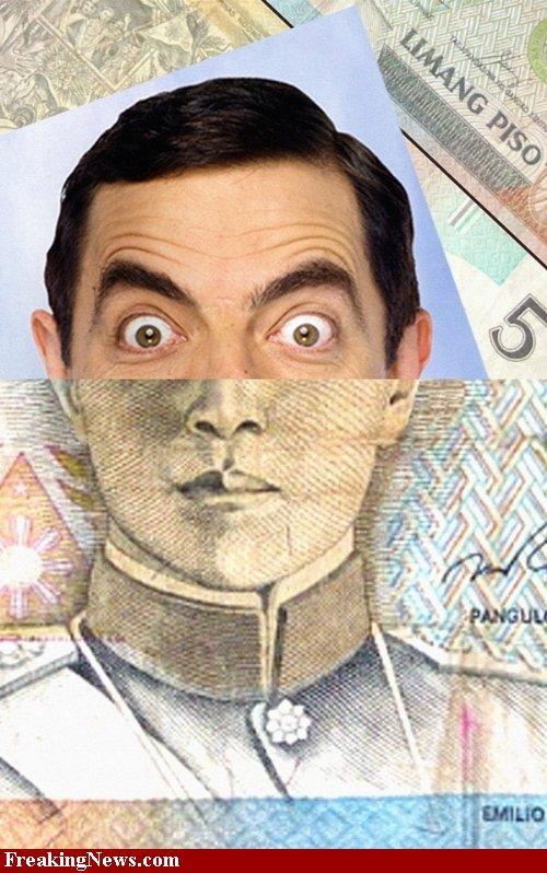 Billetes de famosos