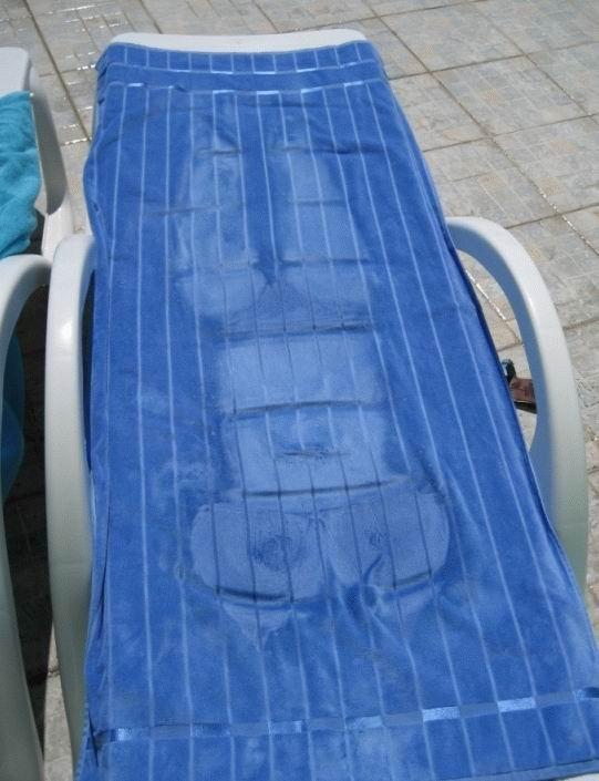 Marcas en toallas