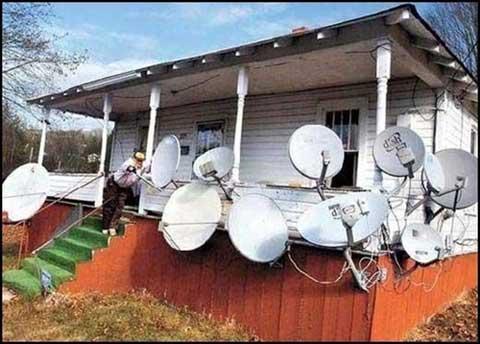 Chupando la señal wifi a los vecinos