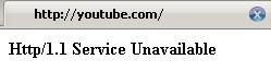 Youtube caído