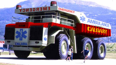 Las ambulancias más molonas del mundo