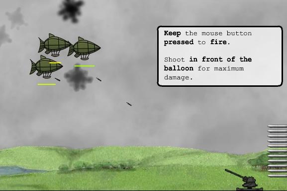 Balloon Invasion: Derriba todos los globos aéreos
