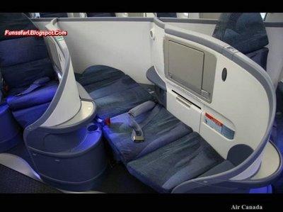 Fotografías del interior de aviones de lujo