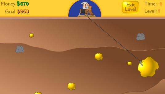 Gold miner: Conviértete en un minero de oro