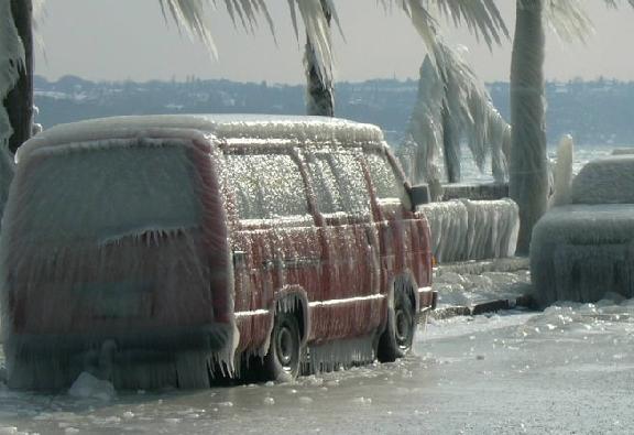 Esto no es nieve, es hielo