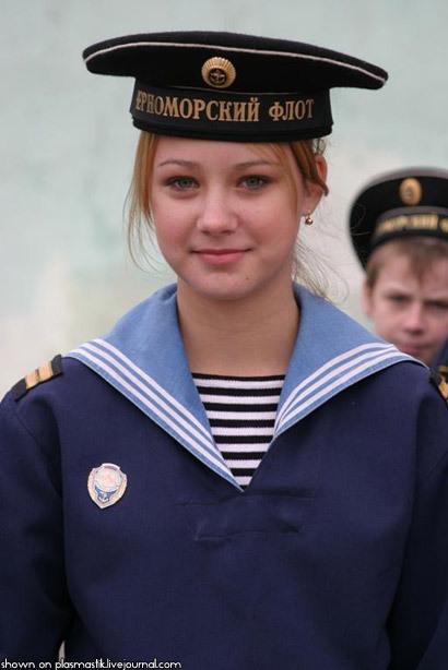 Mujeres guapas en las fuerzas armadas de todo el mundo