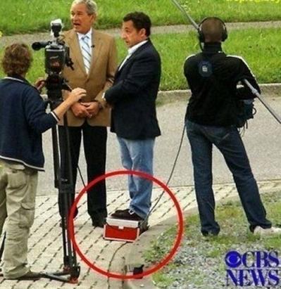 Sarkozy ese pequeño gran hombre