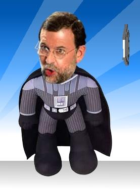 He pegado a Rajoy