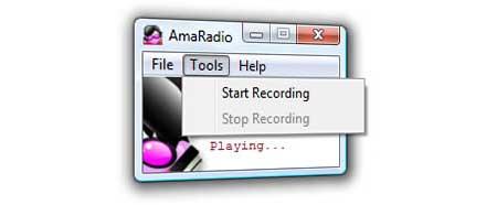 AmaRadio 1.1: Nuevo reproductor y grabador de radio online gratuito