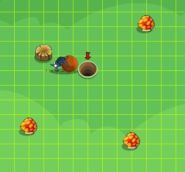 Beetle Run: Métala en el agujero