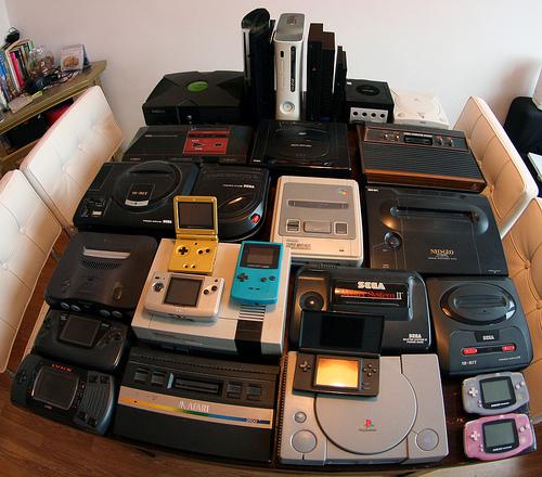 La colección más completa de consolas de videojuegos