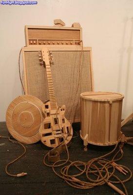Obras de arte hechas con madera for Cosas hechas de madera
