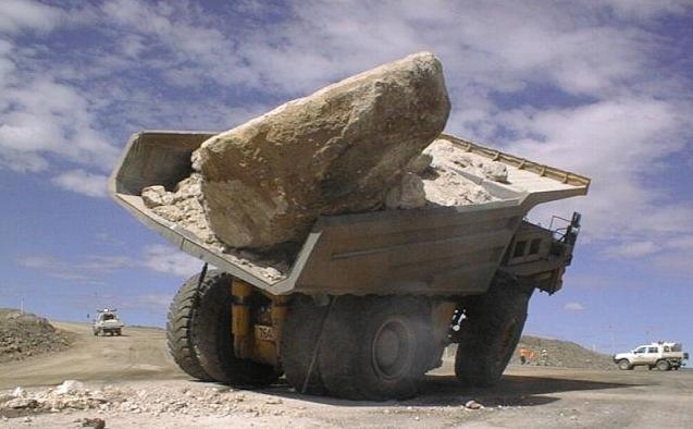 Pedazo de piedra