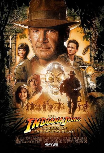 Poster oficial de la nueva película de Indiana Jones 4