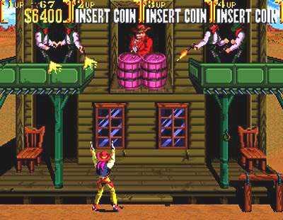 Jugar y descargar el juego Sunset Riders gratis