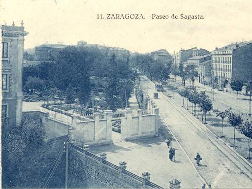 Fotografías antiguas de Zaragoza en el año 1908