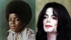 Fotografías de famosos de pequeños y ahora