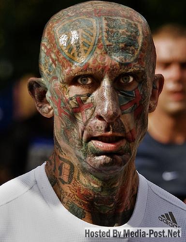 Fotografías De Tatuajes En La Cara Noticiasdehumorcom
