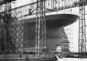 Fotograf as de la construcci n del titanic - Construccion del titanic ...