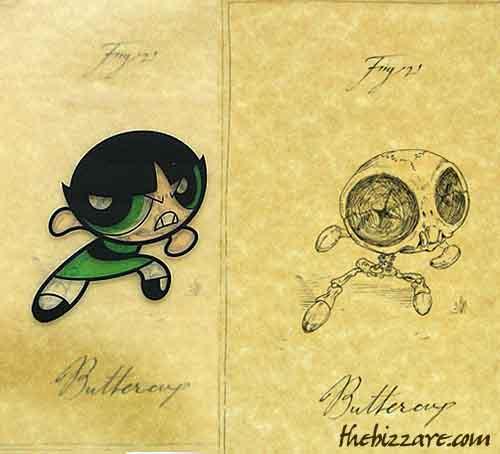 Anatomía de dibujos animados - Noticiasdehumor.com