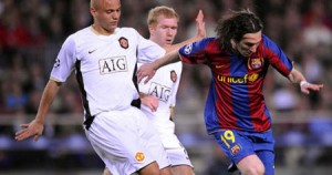 Video of goals in the final of the Champions League 2009 (Barcelona 2 - Manchester United 0)