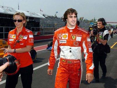 Anuncio oficial del fichaje de Fernando Alonso por Ferrari