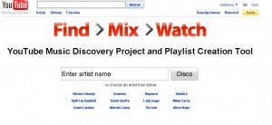 YouTube Disco: Crea un proyecto con tu música favorita